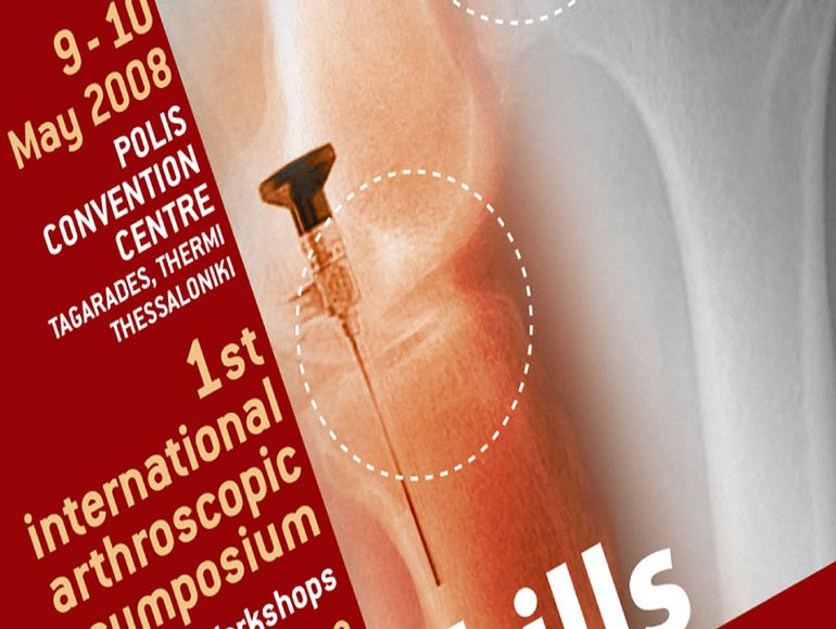 Arthroskills, 1st International Arthroscopic Symposium poster