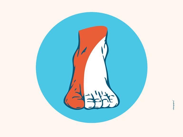 αφίσα, Διαβητικό Πόδι