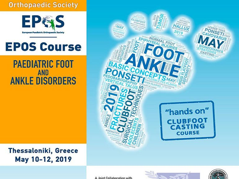 EPOS course: paediatric foot and ankle disorders poster