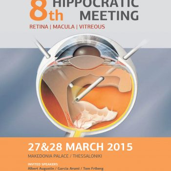8th Retina-Matula-Vitreous Hippocratic Meeting poster