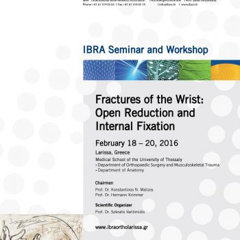 Fractures of the Wrist: Open Reduction and Internal Fixation poster