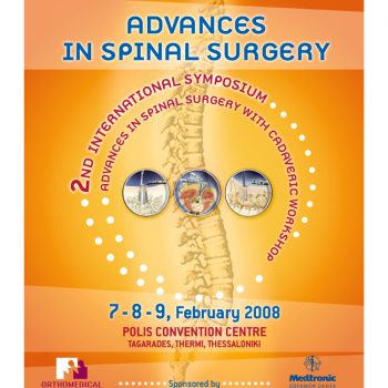 Advances in Spinal Surgery, 2nd International Symposium poster