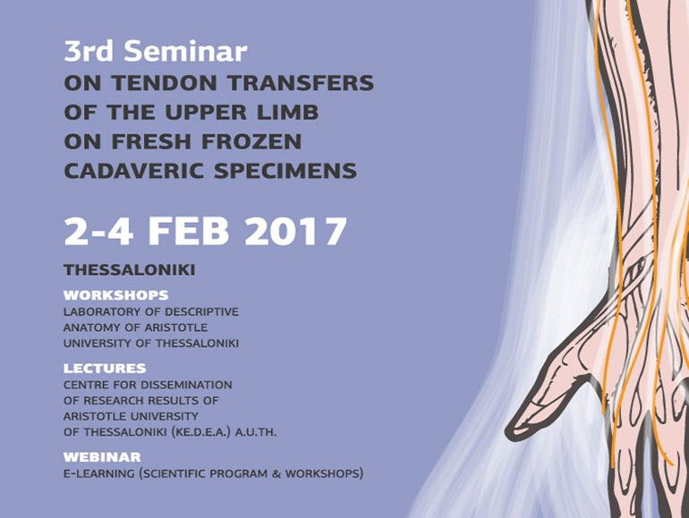 3nd Seminar of Upper Limb Tendon Transfer