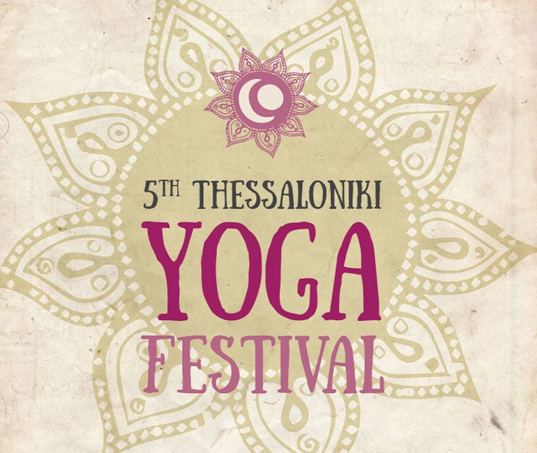 5th Thessaloniki Yoga Festival poster
